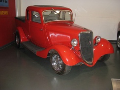 1934 Ford, the first coupe utility model. On display at the National Motor Museum, Birdwood, South Australia