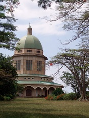 Bahá'í House of Worship, Kampala, Uganda.