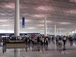 Terminal 3 of the Beijing Capital International Airport