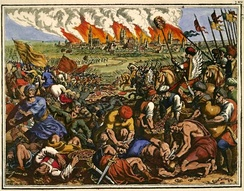 The Battle of Legnica took place during the first Mongol invasion of Poland.