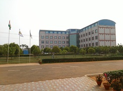 The Management Block of Centurion University Jatni Campus
