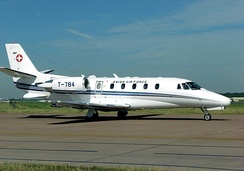 Cessna 560XL Citation Excel of the Swiss Air Force