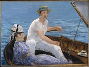 Édouard Manet, Boating 1874