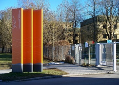 Entrance to the Bundeswehr University in Munich
