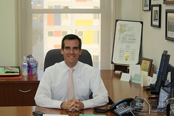 Garcetti in December 2009.
