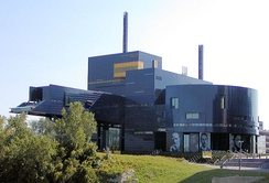 Guthrie Theater on the Mississippi River in Minneapolis