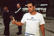 Juan Pablo Montoya was third with the Williams team and 82 points.