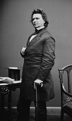 Representative James Mitchell Ashley proposed an amendment abolishing slavery in 1863.