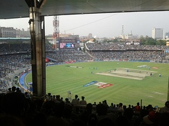 A Twenty20 cricket match between Kolkata Knight Riders and Pune Warriors during Indian Premier League at the Eden Gardens