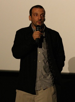 Kassovitz during the preview of the movie L'Ordre et la Morale, 2011.