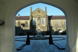 St. David's Building, Lampeter campus, University of Wales, Trinity Saint David (Prifysgol Cymru, Y Drindod Dewi Sant). Founded in 1822, it is the oldest degree awarding institution in Wales.[212]