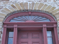 Fanlight at Montgomery's Inn, Ontario