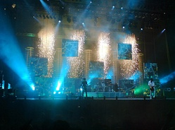 "Muse playing ""Starlight"" at Reading and Leeds Festivals on 28 August 2006"