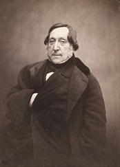 Gioachino Rossini (photo by Félix Nadar, c. 1856)