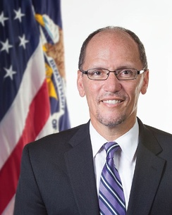 Tom Perez is the current chairman of the Democratic party.