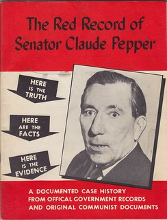 Front cover of The Red Record of Senator Claude Pepper