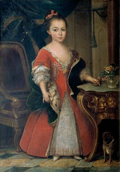 D. Maria Francisca, Princess of Beira, Duchess of Barcelos; Pavona; 1739.