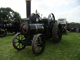 Ruston, Proctor and Co. engine at Cromford steam fair 2008