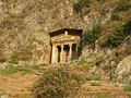 The Tomb of Amyntas in Fethiye.