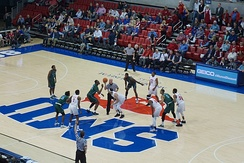 SMU in action against the Tulane Green Wave in 2018