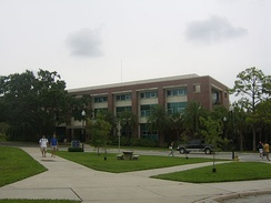 Opened in 2003, Rinker Hall was the first building on campus to receive LEED recognition.  Since opening, other new and renovated buildings on campus have also received certification.