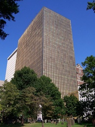 Hartford's Gold Building served as UTC's headquarters from 1975 to 2015[42]
