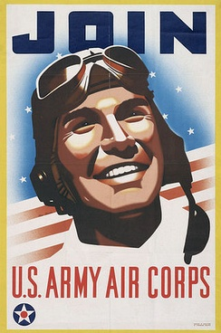 United States Army Air Corps Recruiting Poster
