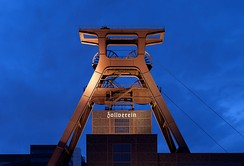 Zollverein Coal Mine Industrial Complex in Essen, a UNESCO World Heritage Site since 2001