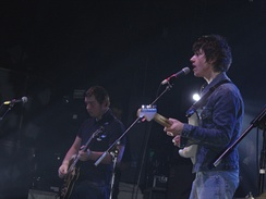 Arctic Monkeys performing in 2006