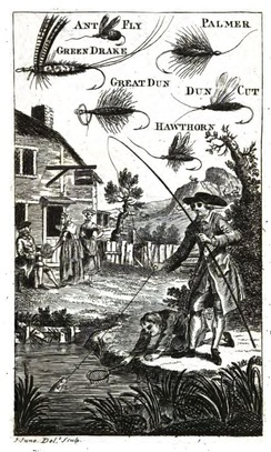 Frontispiece from The Art of Angling by Richard Brookes, 1790