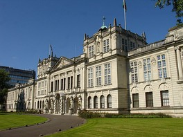 Main Building of Cardiff University