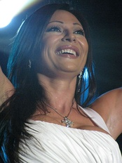 Ceca is considered the biggest Serbian music star.
