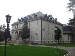 National Library of Montenegro in Cetinje