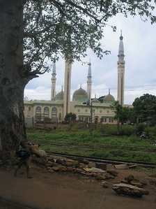 The Conakry Grand Mosque in Guinea, one of the largest mosques in West Africa