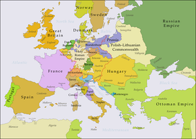 By 1789, France was the most populous country in Europe.