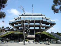 Geisel Library at the University of California, San Diego
