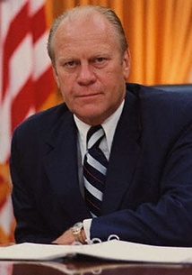 Ford in the Oval Office, 1974