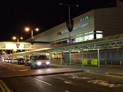 Glasgow Airport in Paisley's Abbotsinch area.