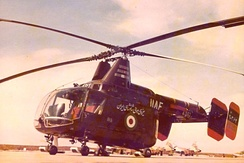 One of 12 HH-43 Huskies acquired by Imperial Iranian Air Force in 1965