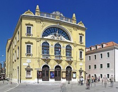 The Croatian National Theatre in Split, built in 1893