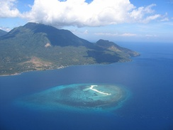 White Island in Camiguin, Philippines