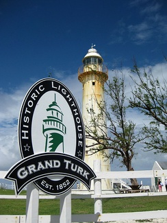 The 1852 lighthouse on Grand Turk