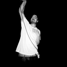 Aesop Rock performing at Irving Plaza NYC in 2007