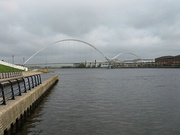 Infinity Bridge from the River Tees Watersports Centre