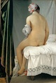 French Classical painting, The Bather, Ingres, 1808