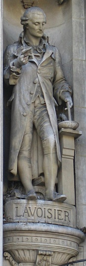 Statue of Lavoisier, at Hôtel de Ville, Paris