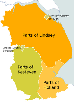 County and County Borough areas pre 1965