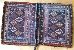 Luristan Soumak saddle bag, late 20th century