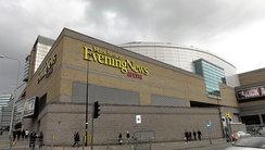 The arena during sponsorship by Manchester Evening News