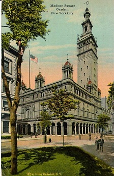 The second Madison Square Garden, designed by Stanford White
